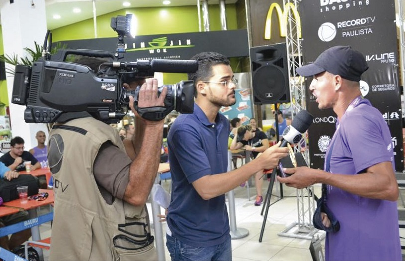 Record TV Paulista na 30x Run Relay